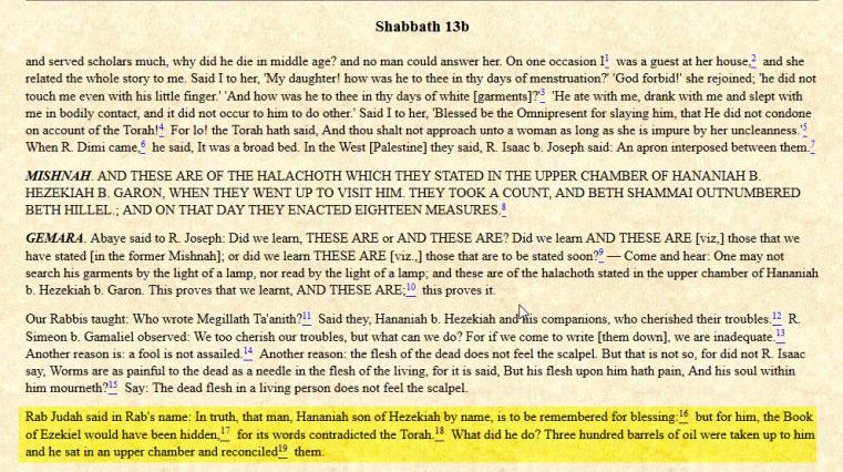 Tractate Shabbat 13b